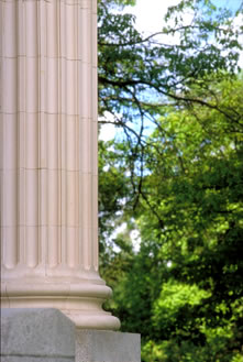 Johnson Hall Column